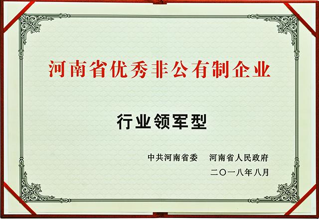 河南省优秀非公有箣企业行业领军型20181102.jpg